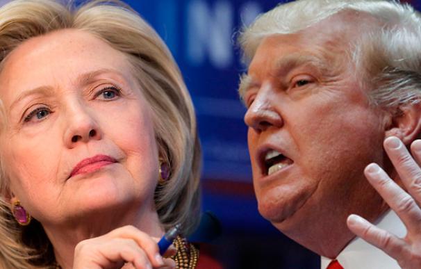 Clinton y Trump parten como favoritos en las primarias del 1 de febrero