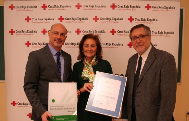 El Victoria Eugenia recibe la certificación en nivel avanzado de la Agencia de Calidad Sanitaria de Andalucía