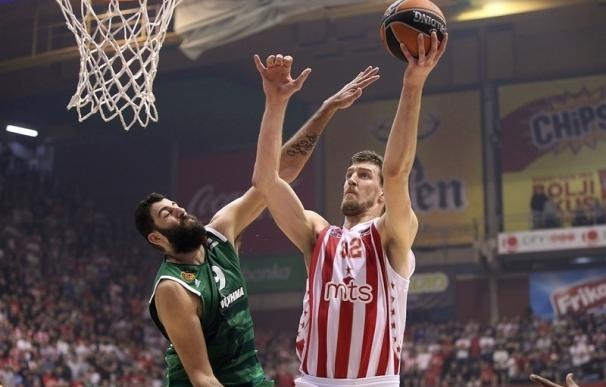 Ognjen Kuzmic (Estrella Roja), nombrado MVP de enero