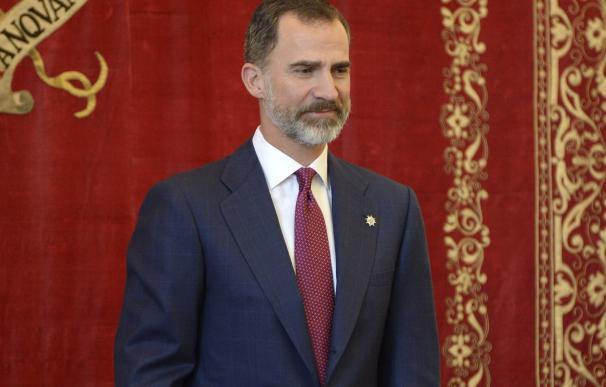 El Rey Felipe VI cumple 49 años atendiendo sus compromisos profesionales