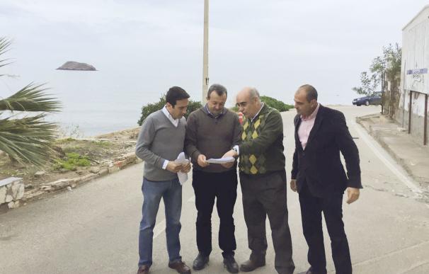 Diputación aporta soluciones técnicas a los problemas de saneamiento en San Juan de Terreros, en Pulpí