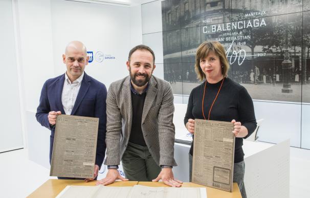 El museo Balenciaga conmemora el centenario de la apertura del primer negocio del modisto en San Sebastián