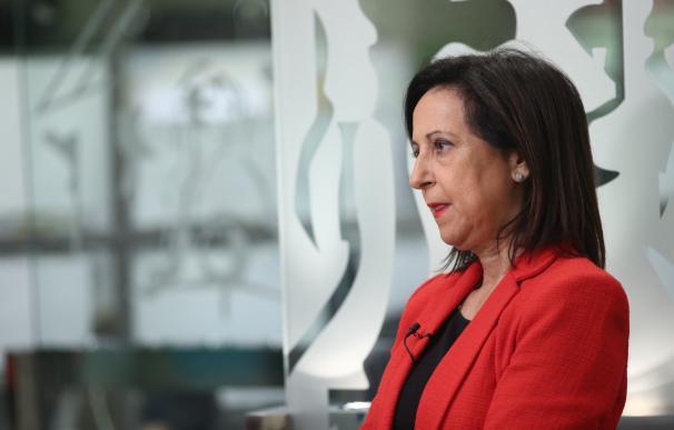 """Margarita Robles niega que haya """"una mano negra"""" contra el proceso catalán y cuestiona las palabras de Vidal"""
