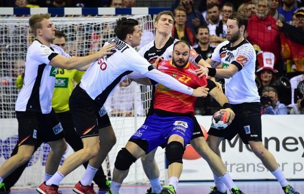 España pierde la final del campeonato de Europa ante Alemania