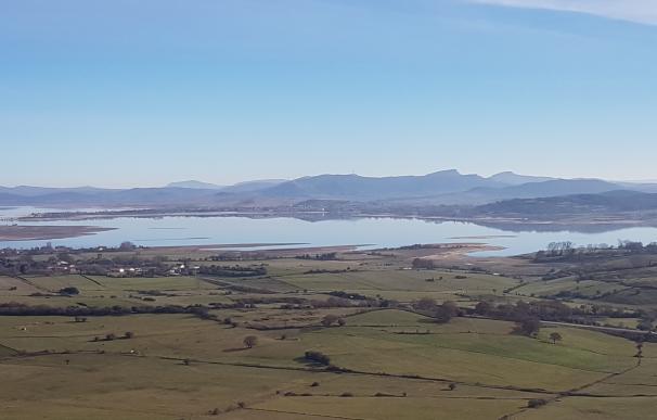 El embalse del Ebro gana un hectómetro y sube al 39,6% de su capacidad