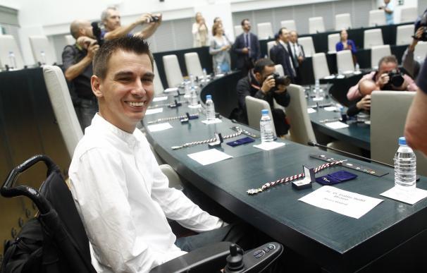 Pablo Soto, de baja por paternidad, acudirá al Pleno mañana porque aún no está habilitado el sistema de voto a distancia