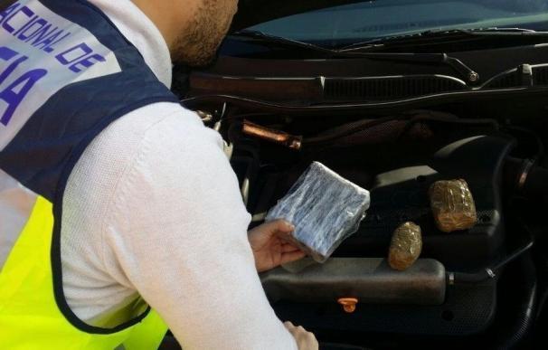 Desarticulado un presunto grupo de traficantes a los que se incautó más de un kilo de cocaína