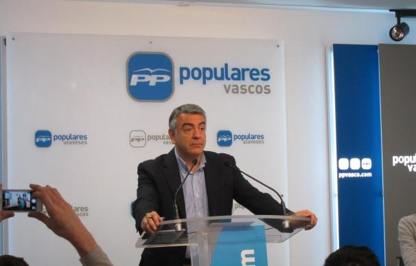 De Andrés revela que Delegación del Gobierno retiró 30 recursos contra el uso del euskera de ayuntamientos en sus textos