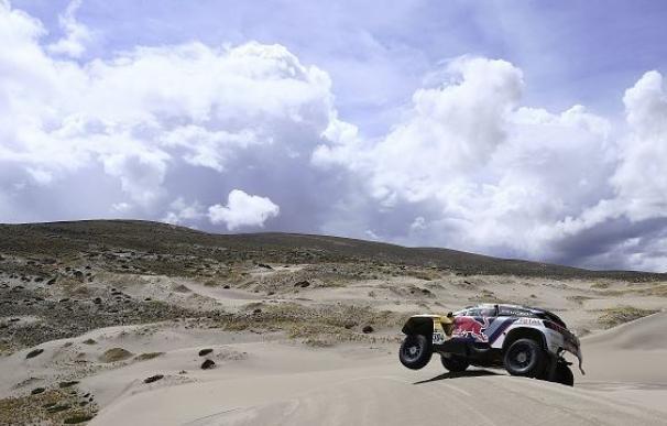 Suspendida la sexta etapa del Dakar por las condiciones metereológicas extremas