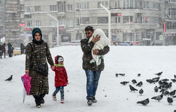 Ola de frío en Turquía