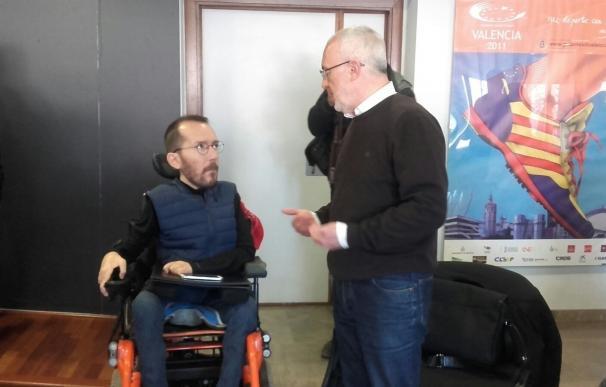 """Montiel asegura que en Podemos """"hay casi tantas corrientes como personas"""" y que en la Comunitat conviven """"perfectamente"""""""