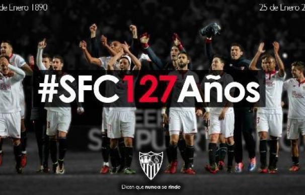 El Sevilla celebra su 127 aniversario