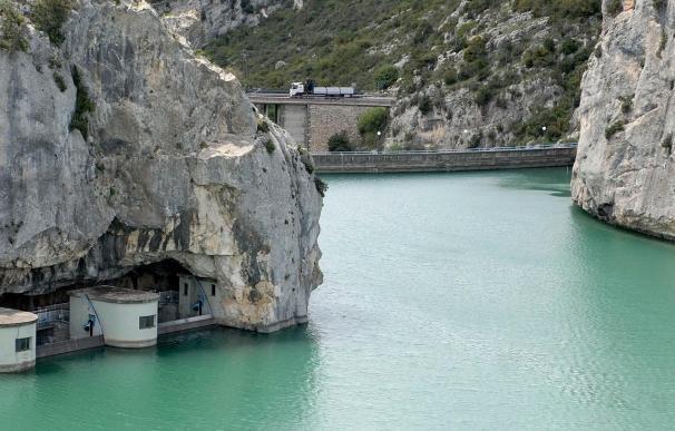 Los embalses de la cuenca del Ebro, al 51,1% de su capacidad tras aumentar un 1,1%