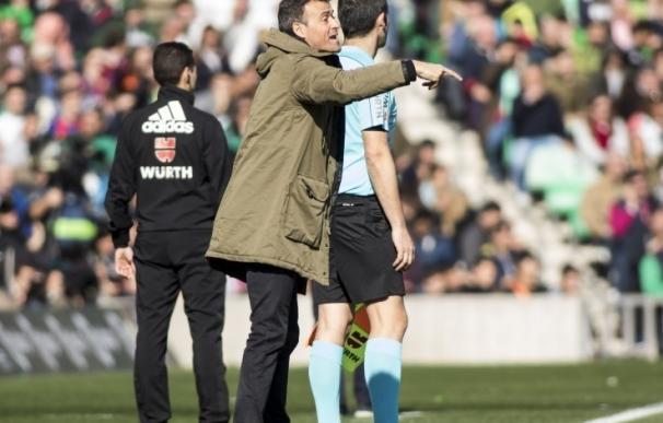 """Luis Enrique: """"Hemos ganado un punto y el Betis ha merecido más"""""""