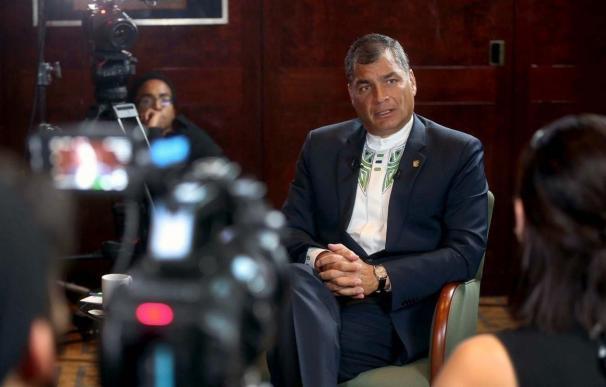 La alcaldesa de Madrid recibe este lunes al presidente de Ecuador, de visita oficial en España