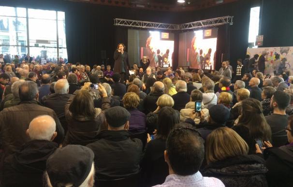 Colau pide que el espacio de los 'comuns' trascienda siglas y vertebre un proyecto para Cataluña
