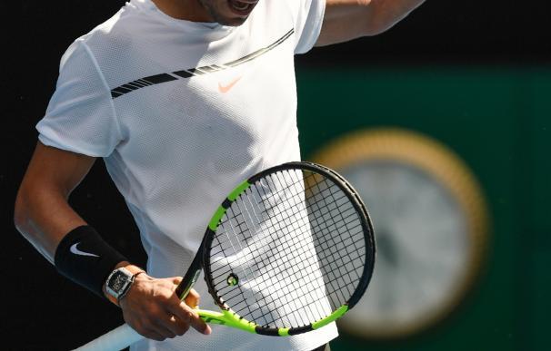 Rafa Nadal pasa a segunda ronda en el Abierto de tenis de Australia