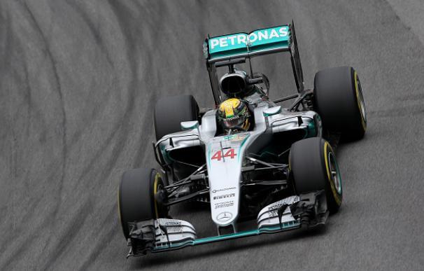 Hamilton, el más rápido en la primera sesión de clasificación del GP de Brasil