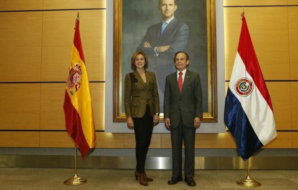 España y Paraguay firman un Memorándum de Entendimiento para la participación conjunta en operaciones de paz