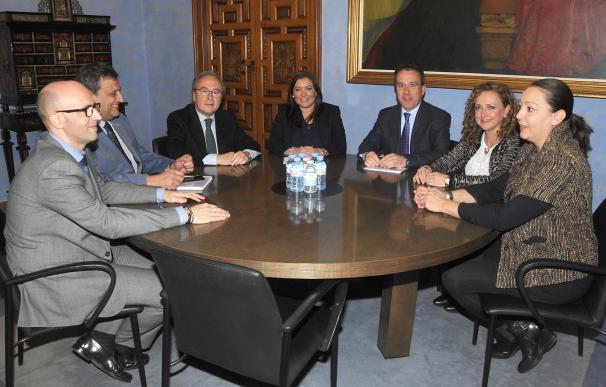 Diputación, Iprodeco y CECO se unen para conseguir proyectos de financiación europea en materia formativa