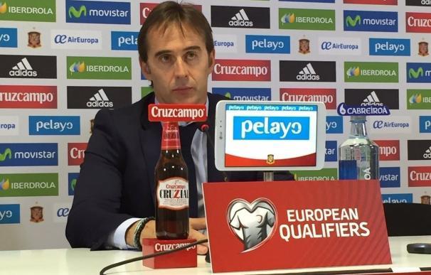 Lopetegui ofrecerá este viernes la lista para los encuentros ante Macedonia e Inglaterra