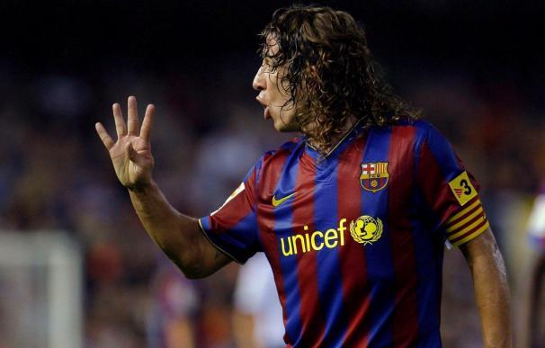 Puyol firma la ampliación de contrato hasta el 2013