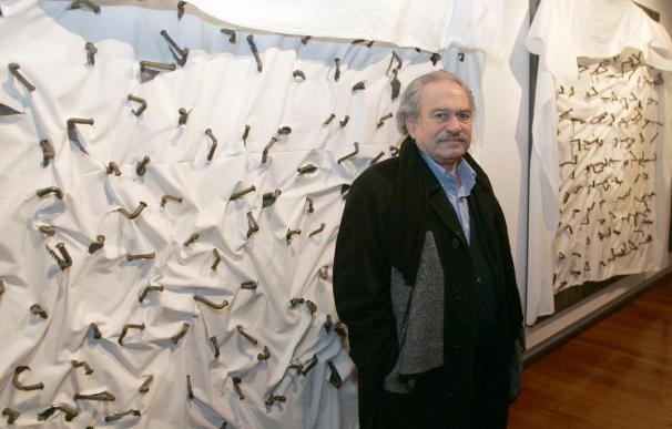 El artista griego Jannis Kounellis muestra su obra hasta enero en la Fundación Botín