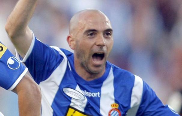 De la Peña vuelve a ejercitarse con el Espanyol