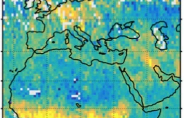 Primeros mapas del CO2 de origen humano obtenidos desde el espacio