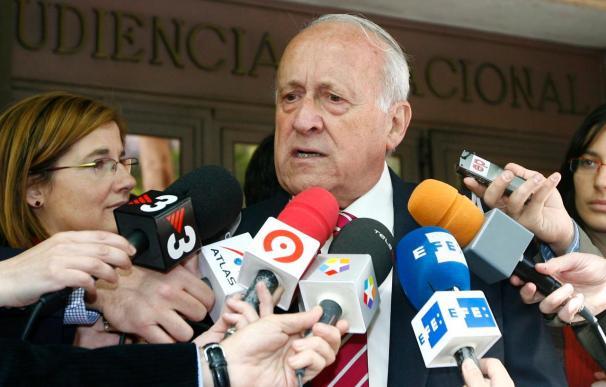 Arzalluz dice que Otegi y el resto de los detenidos son buenos patriotas dignos de respeto