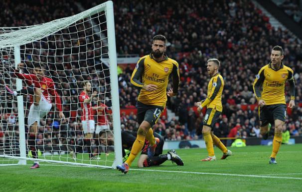 El United de Mourinho deja escapar dos puntos en el único tiro del Arsenal