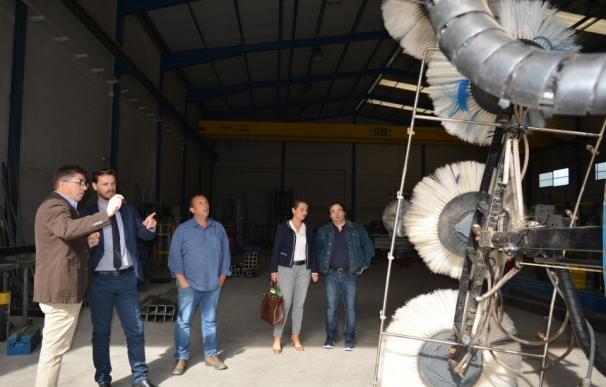 La Junta destaca el carácter innovador de la empresa Inoxal en la comarca de Guadix