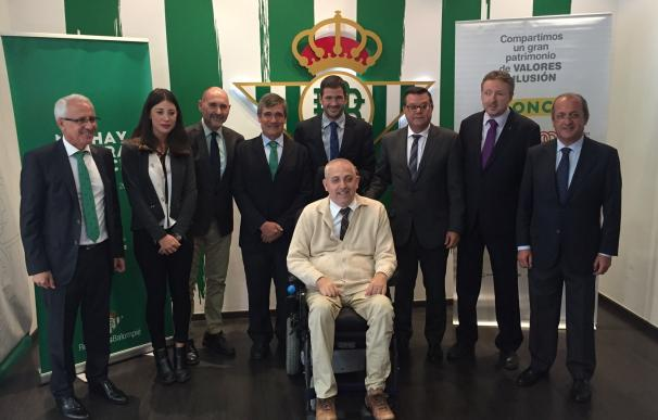 Betis y ONCE se unen para mejorar el acceso a las instalaciones del club