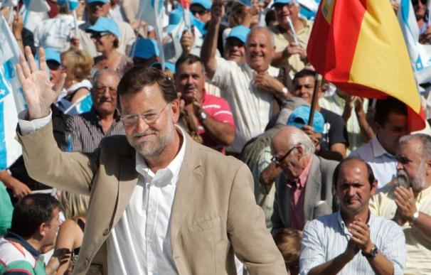 Rajoy dice que la gestión del Gobierno empobrece España y lo liquida como país