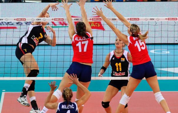 España clasificada para la segunda fase tras ganar a Croacia