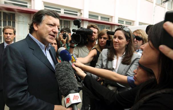 Durao Barroso vota en Lisboa y confía en una gran participación electoral