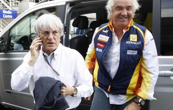 """Ecclestone considera que la FIA ha sido """"demasiado dura"""" con Briatore y le anima a apelar la sanción"""