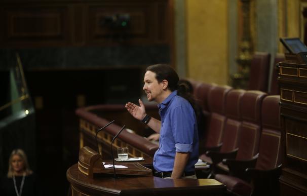 """Iglesias, orgulloso de no guardar minuto de silencio por Barberá frente a los que han estado """"con el PP"""""""