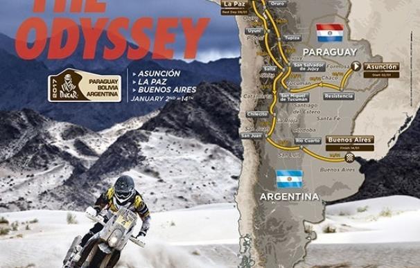 """El recorrido del Dakar 2017, un """"desafío físico de resistencia extrema"""" por la altura"""