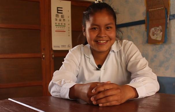 Dos jóvenes bolivianas con discapacidad reciben tratamiento en Madrid gracias a la Fundación Juan XXIII y World Vision