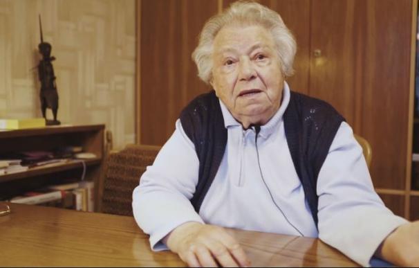 El mensaje de Gertrude, superviviente de Auschwitz