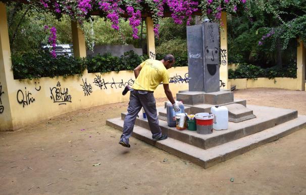 Santa Cruz de Tenerife destina 3.500 euros a reparar el vandalismo en el parque García Sanabria