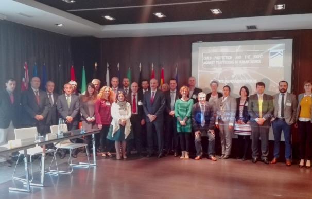 El CITCO reúne en Madrid a expertos de 13 países y de Europol para combatir la trata y proteger a los menores