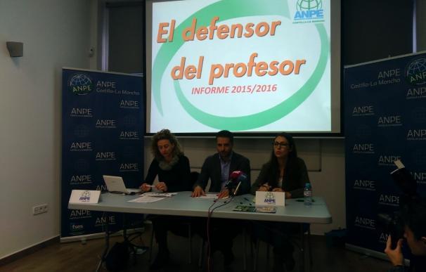 Un total de 76 profesores de C-LM con problemas de convivencia fueron atendidos por el Defensor del Profesor, según ANPE
