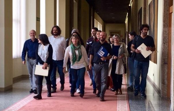 Los diputados de En Marea aportarán casi 16.000 euros mensuales al partido instrumental