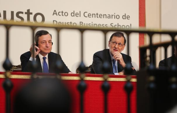 Draghi anima a las economías de la eurozona a fijarse en las reformas acometidas en España