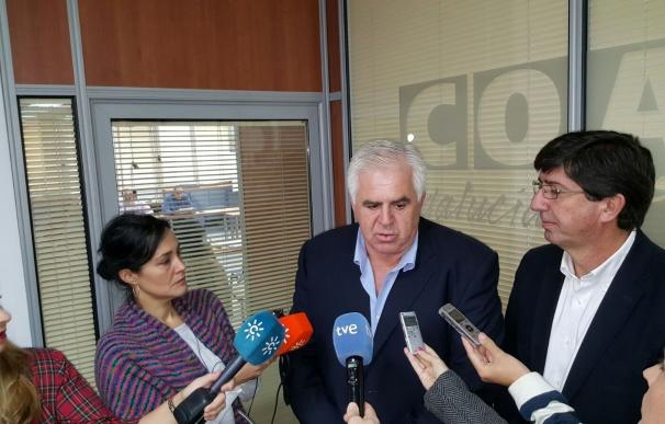Marín (C's) echa en falta que Susana Díaz hubiera consultado con los grupos las propuestas que lleva a Bruselas