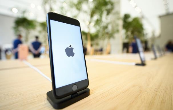 Un smartphone de la marca Apple