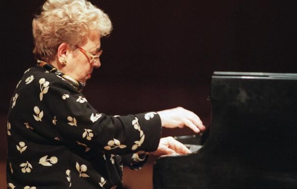 L'Auditori rendirá un homenaje a Alicia de Larrocha con un minuto de silencio