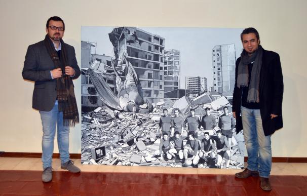 Óscar Seco se alza con el XXV Premio 'López Villaseñor' de Artes Plásticas de Ciudad Real con 'Caídos del cielo'